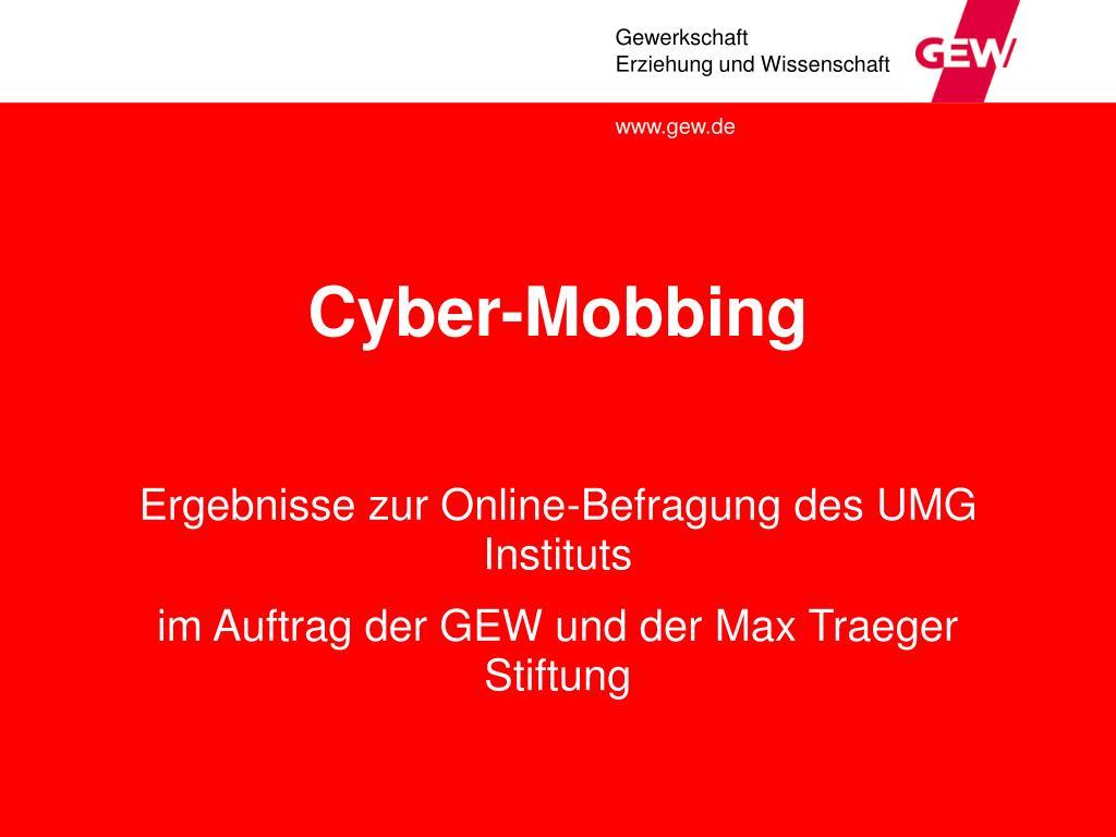 cyber mobbing l.