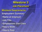 milestone 3 job placement14