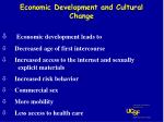 economic development and cultural change