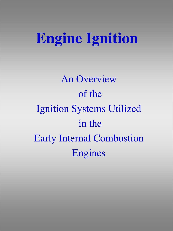 engine ignition l.