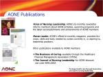 aone publications