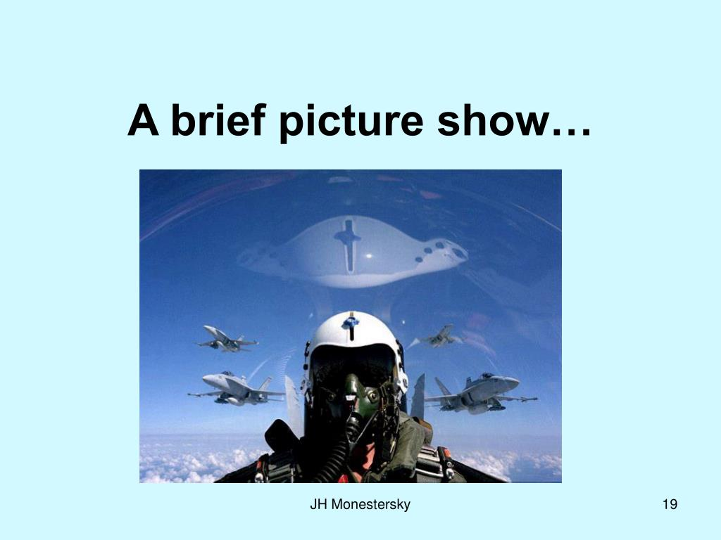 A brief picture show…