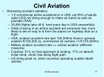 civil aviation