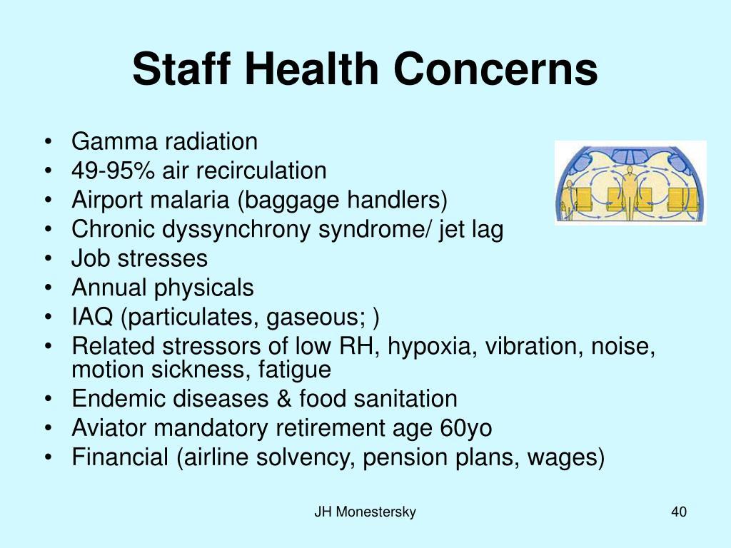 Staff Health Concerns