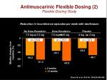 antimuscarinic flexible dosing 2 flexible dosing study