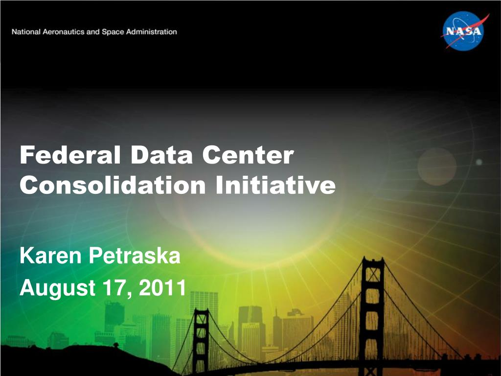 federal data center consolidation initiative l.