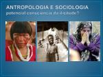 antropologia e sociologia potencial consci ncia da ilicitude