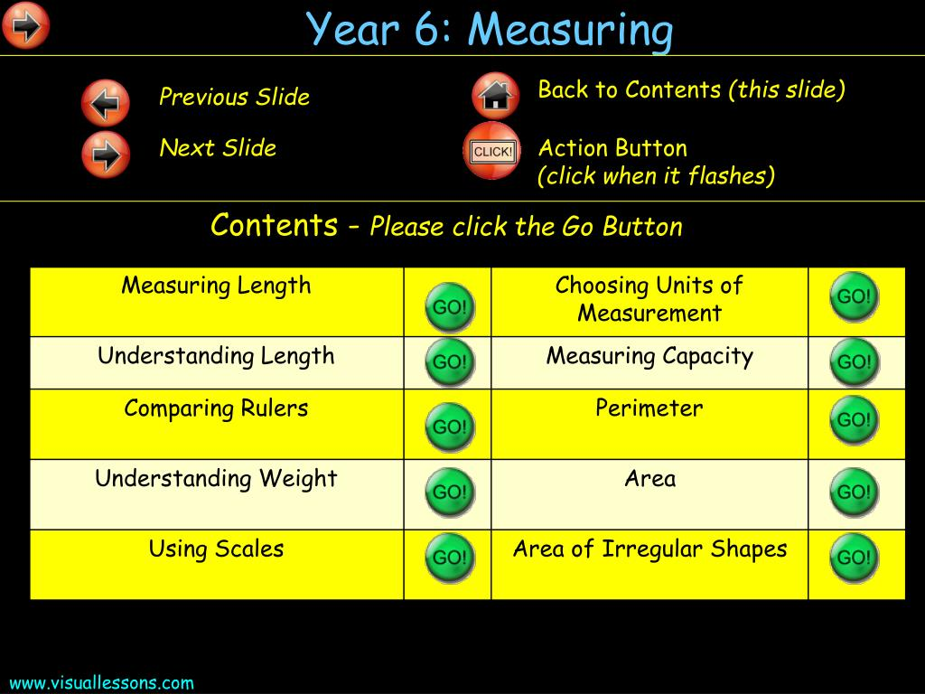 year 6 measuring l.