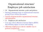 organisational structure employee job satisfaction