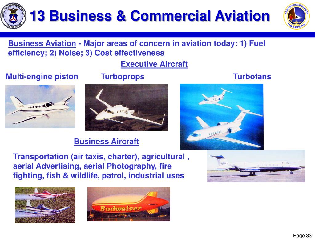 13 Business & Commercial Aviation