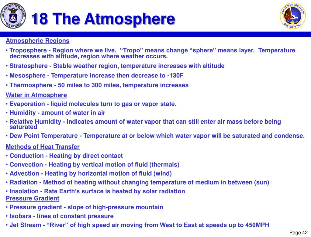 18 The Atmosphere