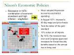 nixon s economic policies