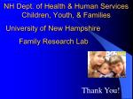 nh dept of health human services children youth families