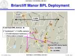 briarcliff manor bpl deployment