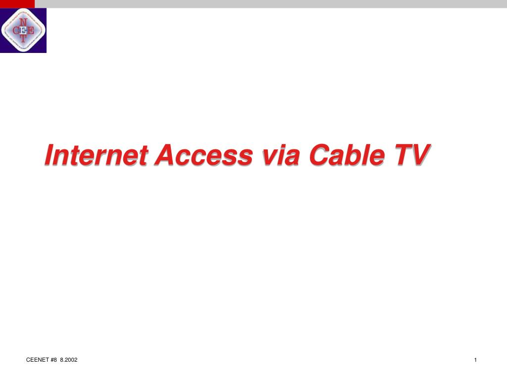 internet access via cable tv l.