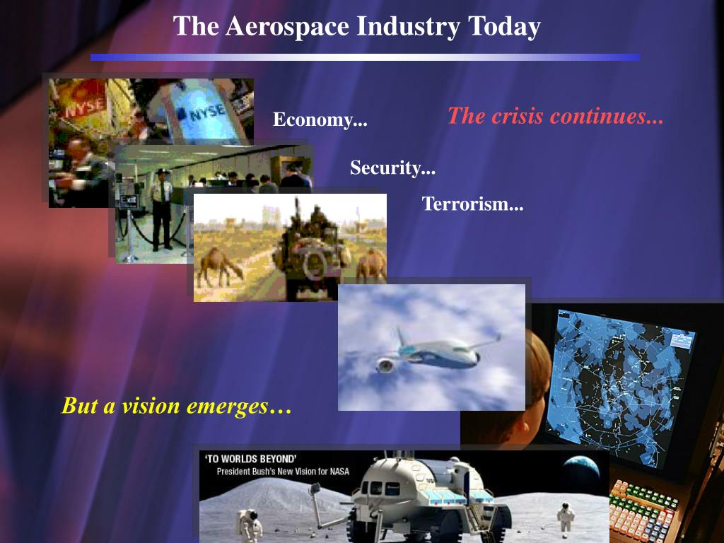 The Aerospace Industry Today