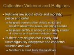 collective violence and religions