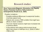 research studies11