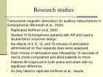 research studies12