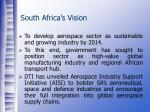 south africa s vision