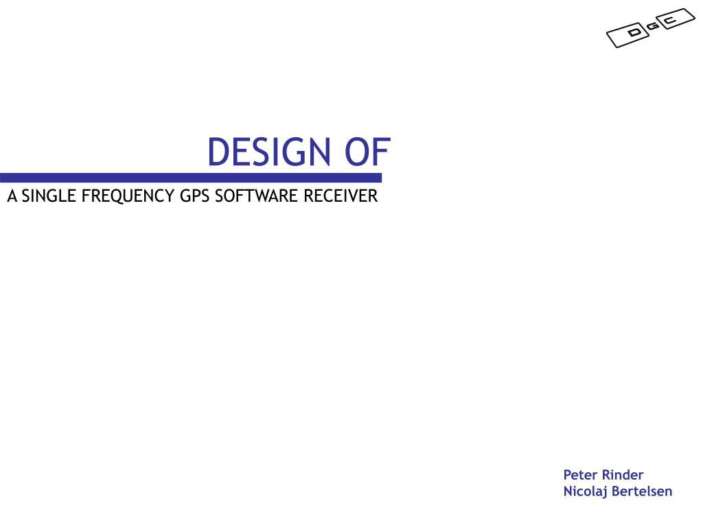 design of l.