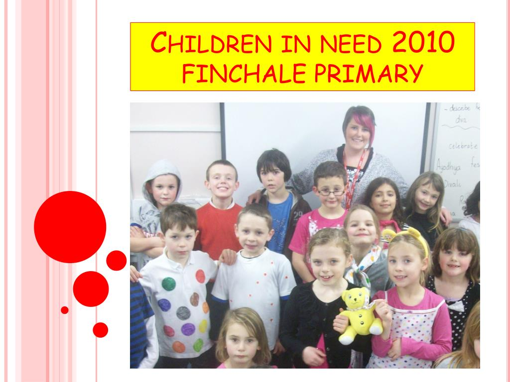 children in need 2010 finchale primary l.