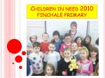 children in need 2010 finchale primary