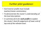 further pilot guidance12