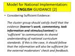 model for national implementation english guidance 2