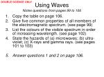 using waves notes questions from pages 99 to 10651