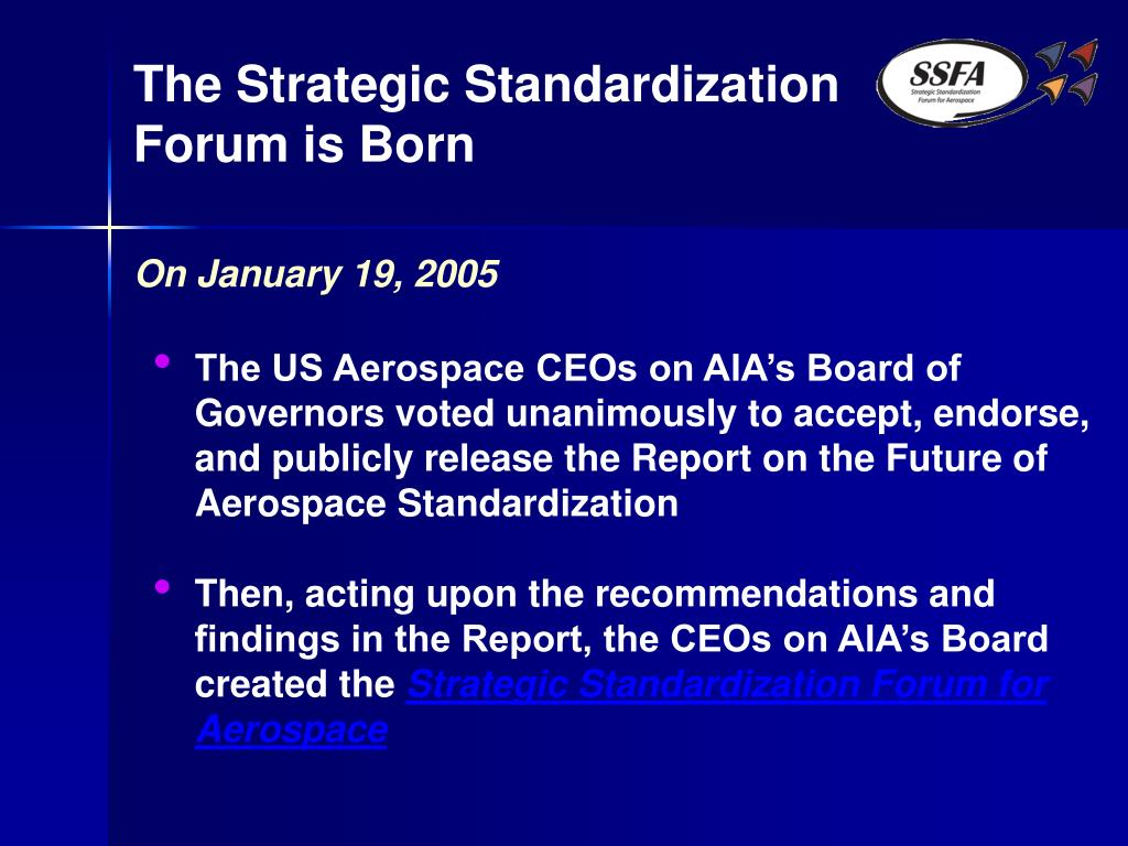 The Strategic Standardization