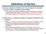definitions of service