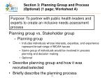 section 3 planning group and process optional 1 page worksheet a