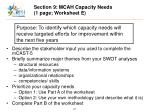 section 9 mcah capacity needs 1 page worksheet e