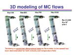 3d modeling of mc flows