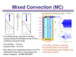 mixed convection mc