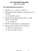asc quickhull algorithm upper convex hull