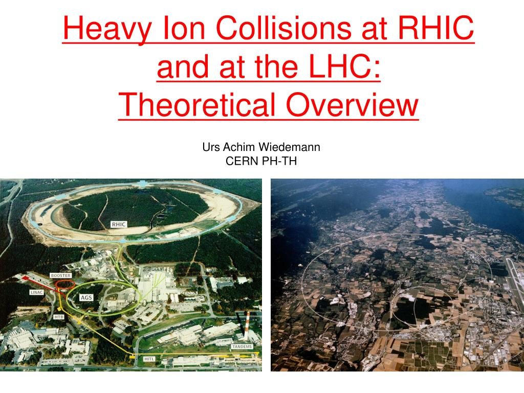 heavy ion collisions at rhic and at the lhc theoretical overview l.