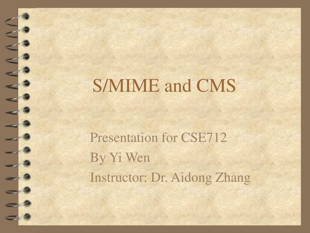 s mime and cms l.