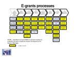 e grants processes