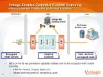 voltage enables perimeter content scanning filtering spam and viruses with end to end encryption