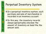 perpetual inventory system20