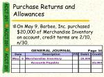purchase returns and allowances32
