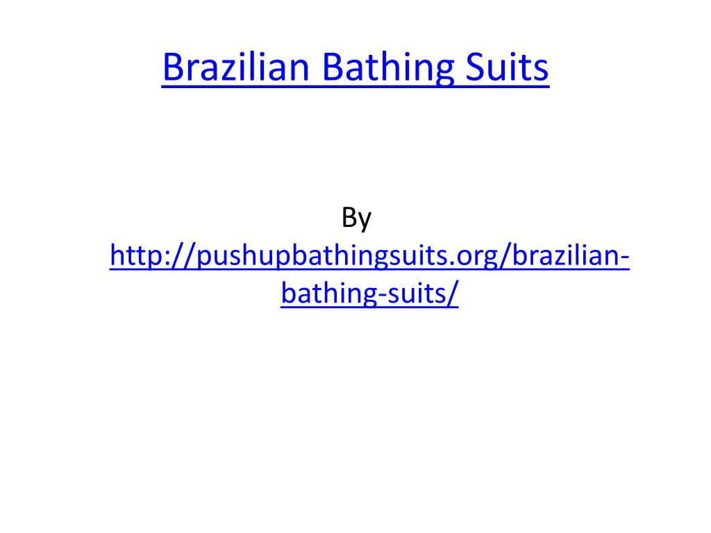 brazilian bathing suits l.