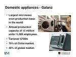 domestic appliances galanz