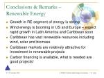 conclusions remarks renewable energy