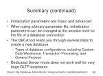 summary continued52