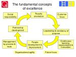 the fundamental concepts of excellence