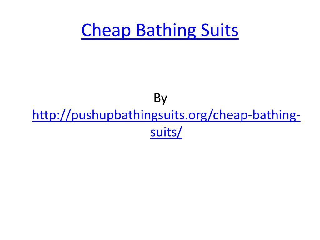 cheap bathing suits l.