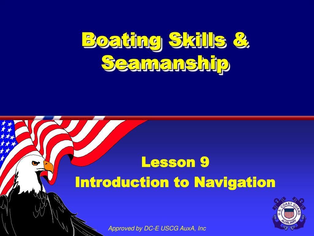 boating skills seamanship l.